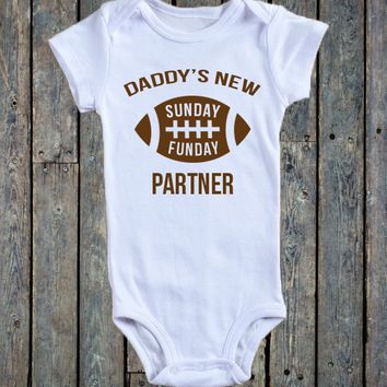 Daddy's New Sunday Funday Partner Onesuit®