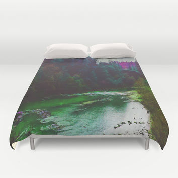 Earth Sounds Duvet Cover by DuckyB (Brandi)
