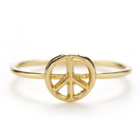 Peace Mini Stack Ring