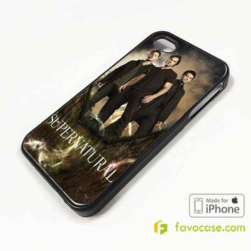 SUPERNATURAL Sam Dean Winchester iPhone 4/4S 5/5S/SE 5C 6/6S 7 8 Plus X Case Cover