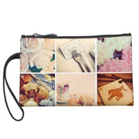 Custom Instagram Photo Collage Mini Clutch