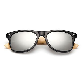 The Classical Bamboo Sunglasses Silver