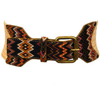 Western Print Belt :: NEW ARRIVALS :: The Blue Door Boutique