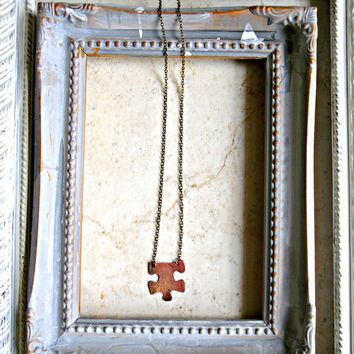 Missing Puzzle Piece Necklace