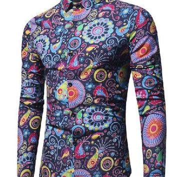 Psycho Paisley Shirts - 3 Colors