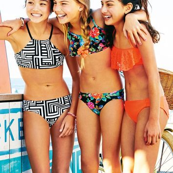Seafolly Girls Summer Camp Mini Tube Set