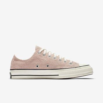 qiyif CONVERSE CHUCK TAYLOR ALL STAR '70 VINTAGE SUEDE LOW TOP - DUSK PINK / EGRET / EGRET
