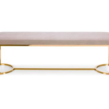 Westgate Bench GREY/GOLD