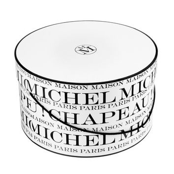 MAISON MICHEL Hat box