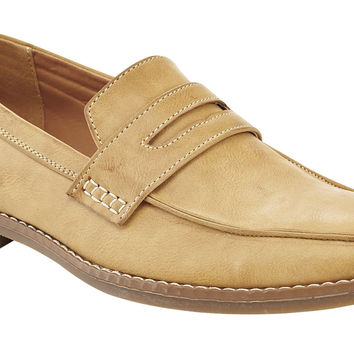 Marco Vitale Men's Smooth Penny Loafer Shoe Tan 11 D(M) US '