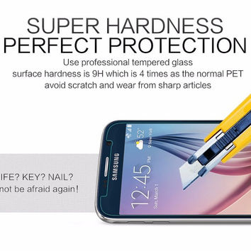 High-quality 0.26 mm Tempered Glass For Samsung Galaxy Mega 6.3 I9200 9200 I9205 Screen Protector Case