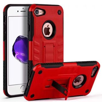 Armor 2 in 1 Combo Defender Stand Holder Case For iPhone