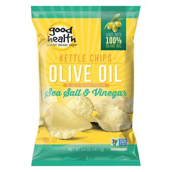 Good Health Olive Oil - Sea Salt And Vinegar - Case Of 12 - 5 Oz.