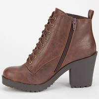 SODA Inside Womens Booties | Boots
