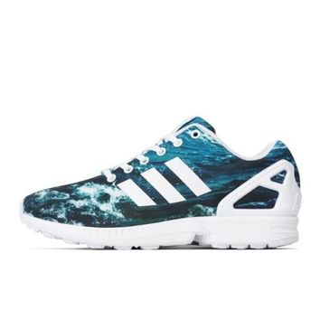 Adidas ZX Flux Ocean Wave Shoes Size 11 us  M19846
