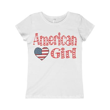 American Girl Girls Princess Tee