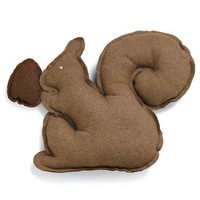 Squirrel Up and Get Cozy Pillow | Mod Retro Vintage Decor Accessories | ModCloth.com