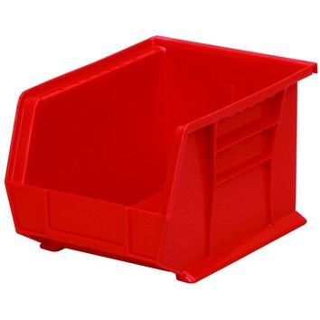 Akro Mils® 30239R Akro Bin Extra Wide Stacking, 50 Lbs Weight Capacity, Red