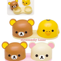 Rilakkuma Bear Contact Lens Case