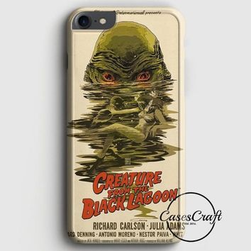 Creature From The Black Lagoon Poster iPhone 7 Case | casescraft