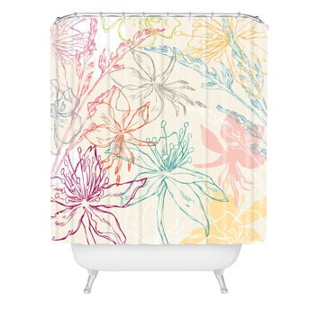 Geronimo Studio Spring 1 Shower Curtain