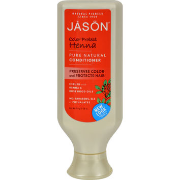Jason Pure Natural Conditioner Color Protect Henna - 16 fl oz