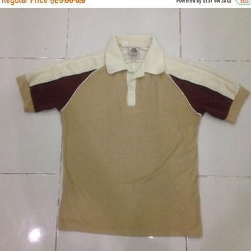 mega sale 50% vintage 70s KENNINGTON LTD CALIFORNIA collar / polo shirt Small Size