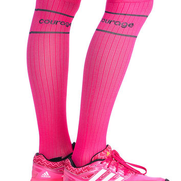 Pink Compression Socks