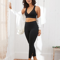 Aerie MOVE High Waisted 7/8 Legging, True Black