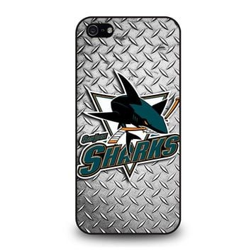 SAN JOSE SHARK iPhone 5 / 5S / SE Case Cover