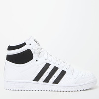 adidas White Top Ten High-Top Sneakers at PacSun.com