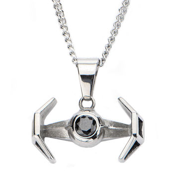 Tie Fighter Necklace