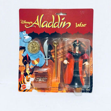 NOC Vintage Disney Aladdin Jafar 1990s, Antique Alchemy