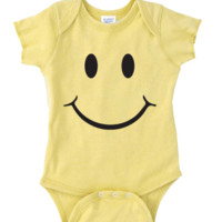 SMILEY FACE Onesuit FUNNY BABY Onesuit CUTE BABY STUFF BABY CLOTHES CUSTOM BABY CLOTHES halloween outfit TODDLERS BABY GIFTS BABY SHOWER