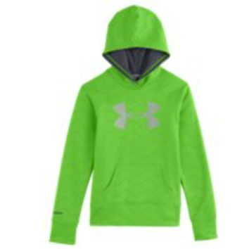 Under Armour Girls UA Big Logo Armour Fleece Hoodie