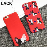 Cute Pocket Dogs Phone Cases For iphone 6 Case For iphone 6S 6 Plus 5 5S Back Cover Cartoon Red Color Dog Capa Fundas Coque HOT!
