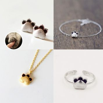 New Arrival Stylish Shiny Gift Korean Earrings Pendant Simple Design Jewelry Necklace [10467596948]