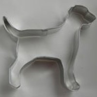 "R&M Lab/Dalmation 4"" Cookie Cutter in Durable, Economical, Tinplated Steel"