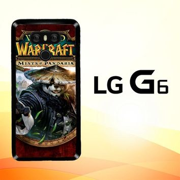 World of Warcraft Guardian Druid Mists of Pandaria Z0652 LG G6 Case