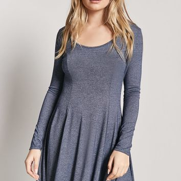 Marled Swing Dress