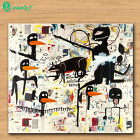 Huge Print Oil Painting TENOR by Jean Michel Basquiat art Home decorative Wall Art Picture Living Room painting free shipping