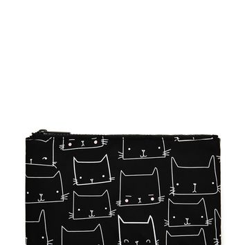 Cat Face Makeup Pouch