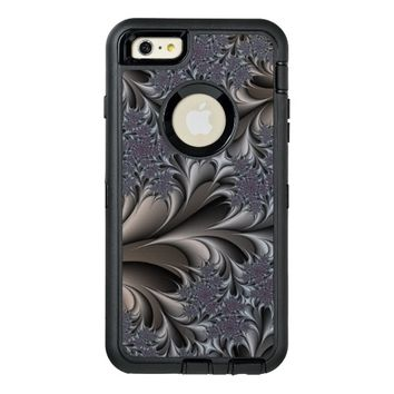 abstract fractal design OtterBox defender iPhone case