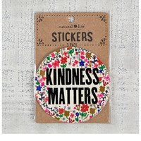 Natural Life Sticker Set - Kindness Matters