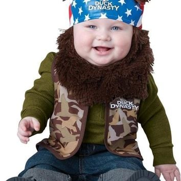Duck Dynasty Willie Toddler Costume 18 Months-2T