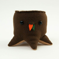 Steff Bomb Tree Stump Plushie