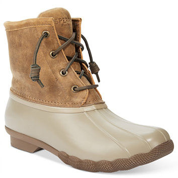 Sperry Women's Saltwater Duck Booties | macys.com