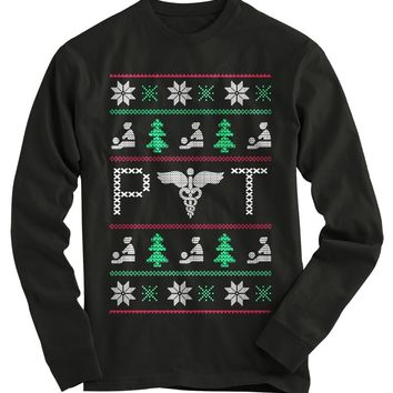Physical Therapist Ugly Christmas Sweater