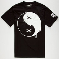 Neff Balance Of Bones Mens T-Shirt Black  In Sizes