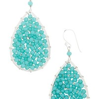 Women's Panacea Crystal Teardrop Earrings